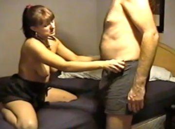 imagen video amateur de pareja profesional