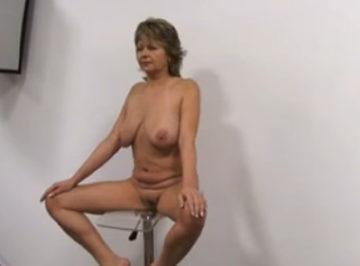 imagen madurita se presenta a casting porno amateur
