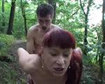 imagen Sodomizada por dos jovencitos en el bosque