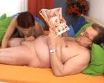 imagen Mi marido ve revistas porno mientras follamos