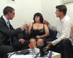 imagen Sexo con la clienta gorda en su casa