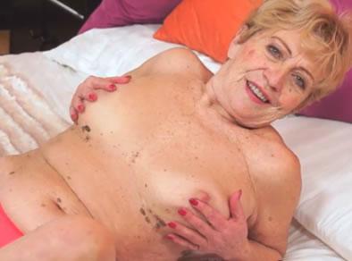 abuela follando