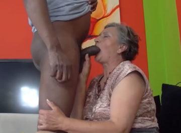 imagen A sus 79 años por fin se folló a un negro