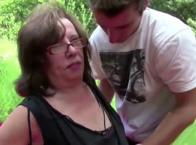abuela follada
